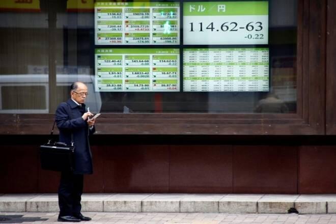 日本日果篮板篮板,朝鲜担心的恐惧减轻了4天失去的条纹;汽车制造商,金融股