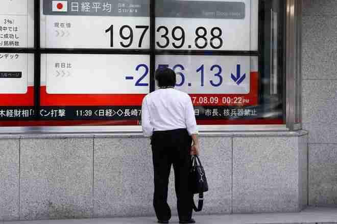亚洲股票,美元集会作为朝鲜党