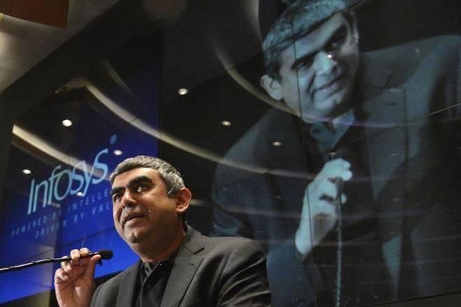 Infosys Shares Native&Ceo Vishal Sikka今天辞职,成为行政活动