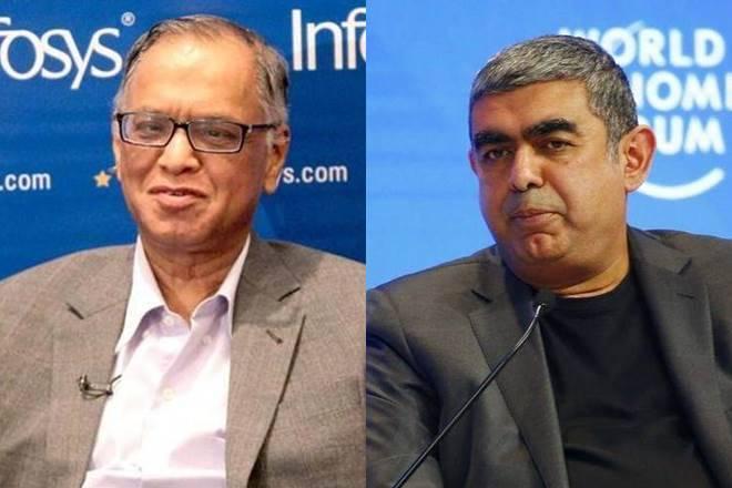 """Infosys联合创始人Narayana Murthy'非常痛苦';虽然董事会采取""""伟大的布兰格"""""""