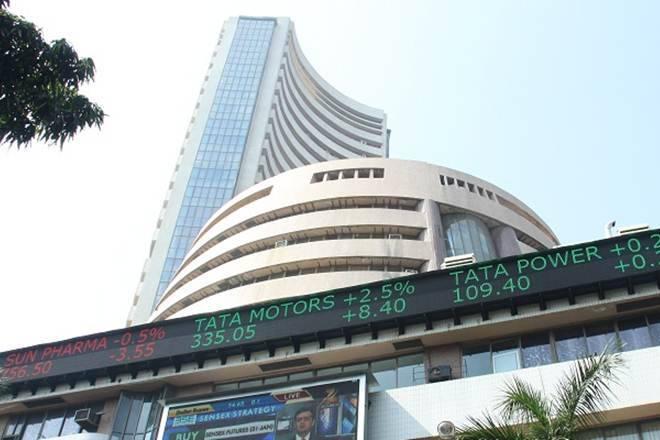 Sensex,漂亮的贸易略高; Anil Ambani的RCOM获得8%,M&M Cracks3%