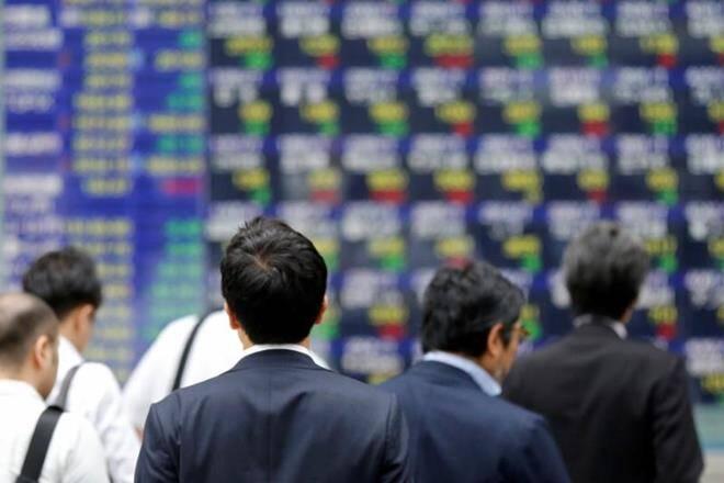 """""""亚洲股票滑倒作为油堵塞情绪,欧元摊"""