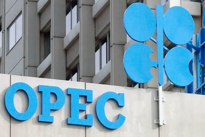 """""""油价落在OPEC产出削减,管道的不确定性下降"""