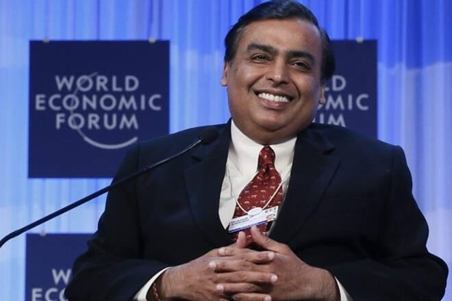 Ril Silit Price Snaps为期三天的失败狂欢,Mukesh Ambani股票飙升2%作为原油售价