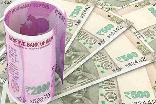 卢比在CPI通胀缩小到10-onthlower后,卢比兑美元拿贱美元