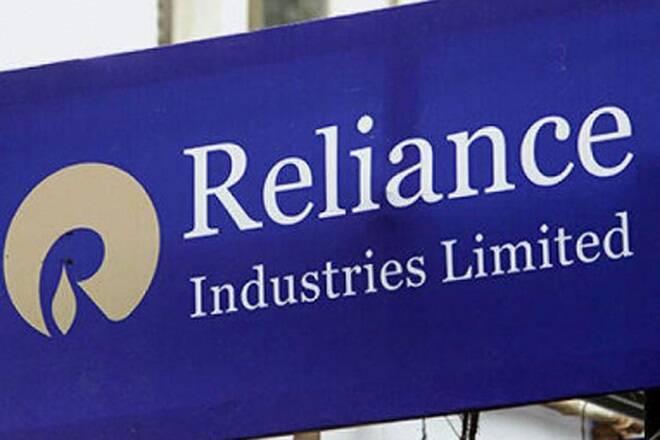 Reliance Industries股价下跌超过4%; Sensex,Pollresults领先的漂亮贸易