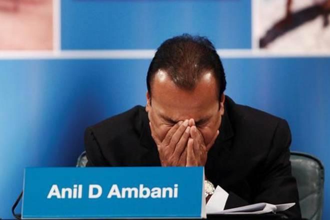 依赖Adag股票在Rcom董事长anilambani策略后