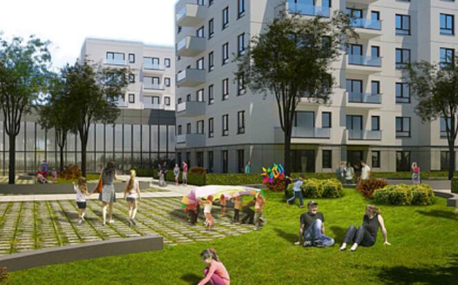 房地产开发商Impact在Iasi建造了拥有1000多个公寓的住宅区