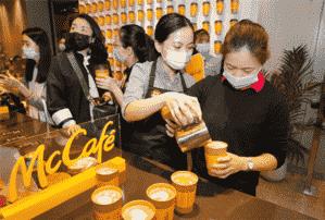 麦当劳加码中国市场:三年25亿布局4000多家麦咖啡