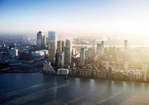 仲量联行推出金丝雀码头伦敦景观住宅Landmark