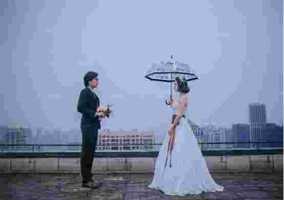 郑州婚纱摄影哪家工作室好,河南高人气前十名摩哥摄影赞不绝口