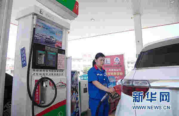 汽油、柴油价格迎年内第四次上调 每升上调约1毛
