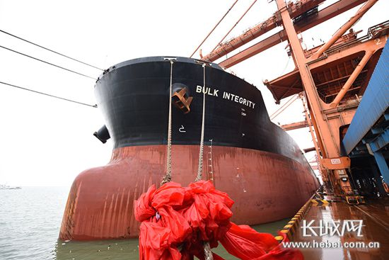 2020年河北省港口通过能力预计达到12.5亿吨