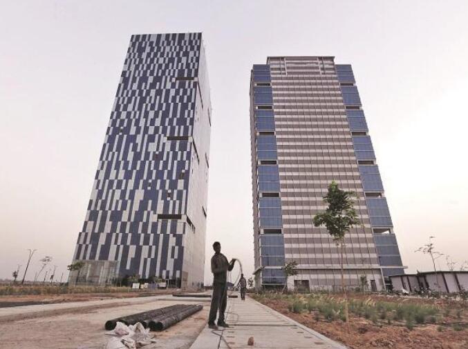 古吉拉特邦国际金融科技城获得印度绿色建筑委员会的绿色认证