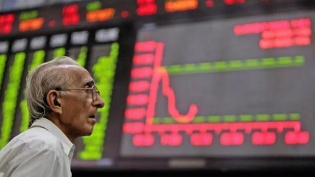 由于经济不确定性扰乱市场 KSE-100暴跌