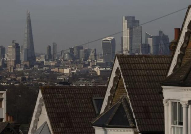 伦敦新屋销售反弹 因短缺前景黯淡